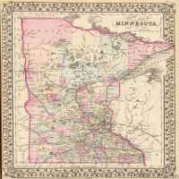 (15)世界地图高清装饰画图片