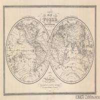 (19)地图装饰画图片