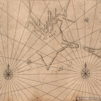 (27)地图装饰画图片