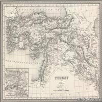 (21)地图装饰画图片