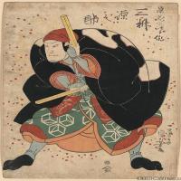 (21)戏画人物喷墨印刷高档电子图库浮世绘日本画图片