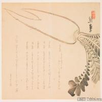 戏画植物(2)日本浮世绘近现代高清图片