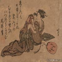 日本人物美女(17)日本浮世绘近现代高清图片