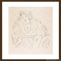 速写-Henri Matisse French 高清图片