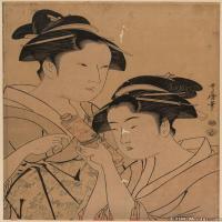 日本人物美女(13)日本浮世绘近现代高清图片