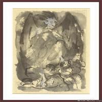 抽象人物(5)抽象素描图片高清图片