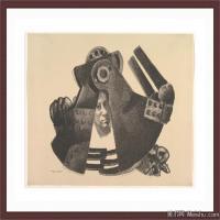 抽象人物(4)抽象素描图片高清图片