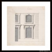 (28)高清素描作品图片建筑设计素描高清图片