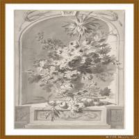 花卉植物(3)世界素描高清图片花卉植物素描高清图片