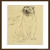 (9)素描动物高清图片高清素描动物资料
