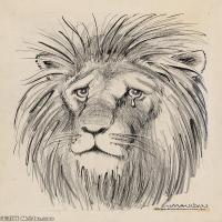 动物素描(4)高清晰高档图片素材专业下载
