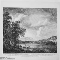 (14)风景野外素描高档喷绘印刷欧美图片资源文件