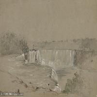 (15)風景野外素描高檔噴繪印刷歐美圖片資源文件