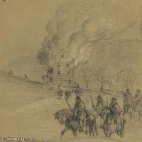 (41)战争素描欧美风格印刷电子文件图片图档图库下载