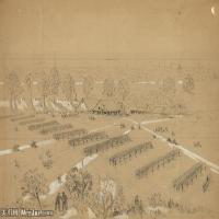 (42)战争素描欧美风格印刷电子文件图片图档图库下载