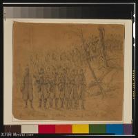 (21)战争素描欧美风格印刷电子文件图片图档图库下载