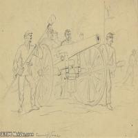 (34)战争素描欧美风格印刷电子文件图片图档图库下载