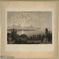 (4)风景野外素描高档喷绘印刷欧美图片资源文件