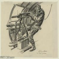 (20)战争素描欧美风格印刷电子文件图片图档图库下载