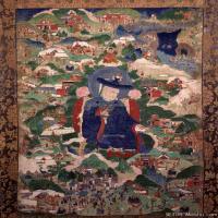 (8)唐卡塔拉佛教神佛画佛教图片