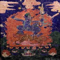 (7)唐卡塔拉佛教神佛画佛教图片
