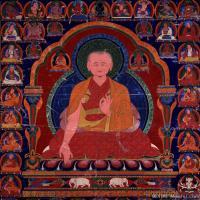 古代唐卡(3)老唐卡-佛画-佛教-神像图