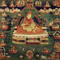 古代唐卡(2)老唐卡-佛画-佛教-神像图