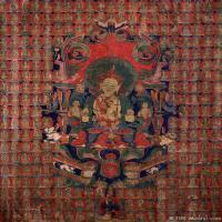 古代唐卡(6)老唐卡-佛画-佛教-神像图