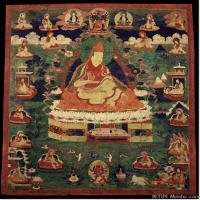 (10)唐卡塔拉佛教神佛画佛教图片