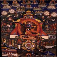 (1)唐卡塔拉佛教神佛画佛教图片