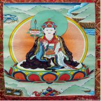 (13)唐卡塔拉佛教神佛画佛教图片