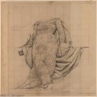 人物身像(16)素描欧美风格印刷电子文件图片