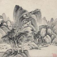 明代山水画家卞文瑜绘画作品(1)