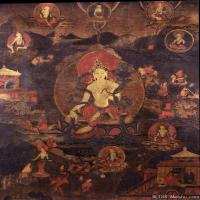 (2)唐卡塔拉佛教神佛画佛教图片