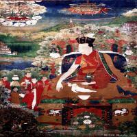 (14)唐卡塔拉佛教神佛画佛教图片