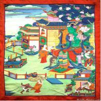 (3)唐卡塔拉佛教神佛画佛教图片