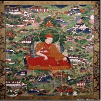 (16)唐卡塔拉佛教神佛画佛教图片