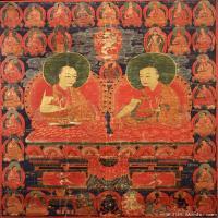 (4)唐卡老师-喇嘛佛画佛教图片