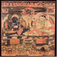(5)佛像老唐卡-佛画-佛教-神像图片