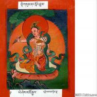 (17)古代唐卡佛教唐卡佛教神图片