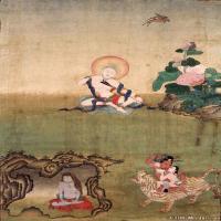 (2)唐卡印度娴熟-悉达-佛画佛教图片