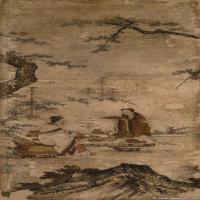 佛画-旧大仙院方丈隔扇画东京国立博物馆