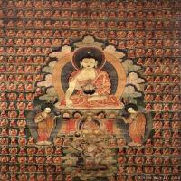 (11)唐卡释迦牟尼佛佛教佛画神像图