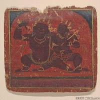 (3)佛画古印度佛经文物佛教册页图片