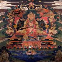 (25)古代唐卡佛教唐卡佛教神图片