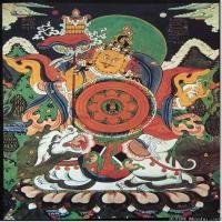 (5)古代唐卡佛教唐卡佛教神图片