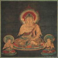 佛画-【版本2】十二天佛教宗教佛像图片