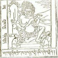 (5)唐卡艺术家笔记线稿般若波罗密多集佛画佛像佛教图片