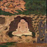 (2)唐卡八个大行家-每幅图三个-佛画佛教图片