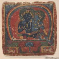 (2)佛画古印度佛经文物佛教册页图片